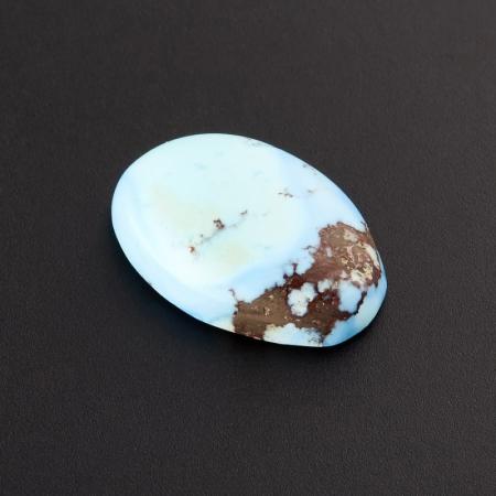 Кабошон бирюза  10*14.5 мм