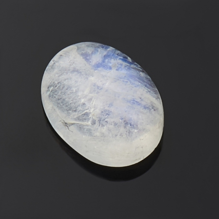Кабошон лунный камень  5х7 мм