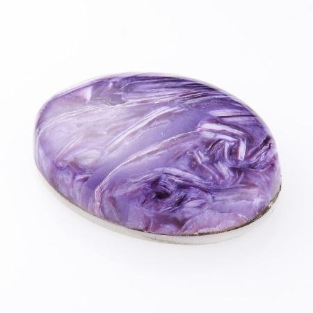 Кабошон чароит  (дублет) 14*19.5 мм
