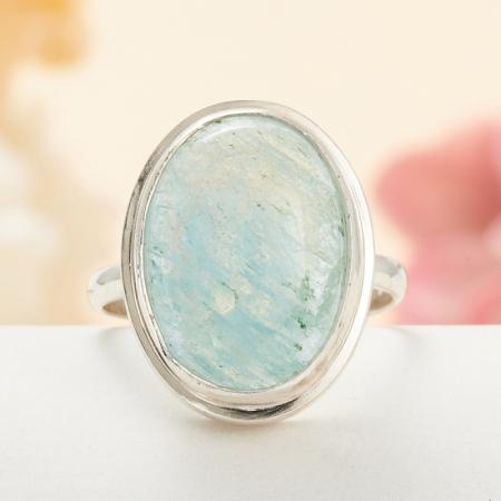 Кольцо аквамарин  (серебро 925 пр.) размер 18,5Аквамарин<br>Кольцо аквамарин  (серебро 925 пр.) размер 18,5<br><br>kit: None