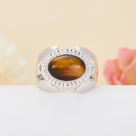 Кольцо тигровый глаз  (серебро 925 пр.) размер 20,5Тигровый глаз<br>Кольцо тигровый глаз  (серебро 925 пр.) размер 20,5<br><br>kit: None