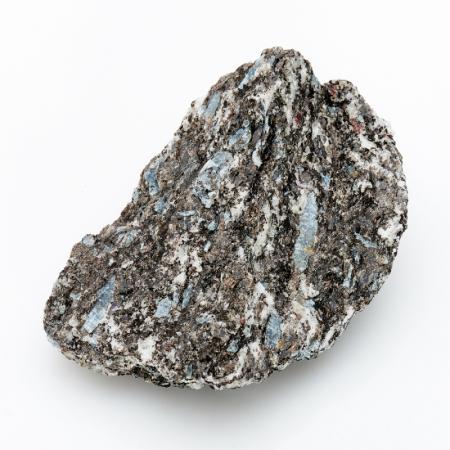 Кристалл в породе кианит синий  M
