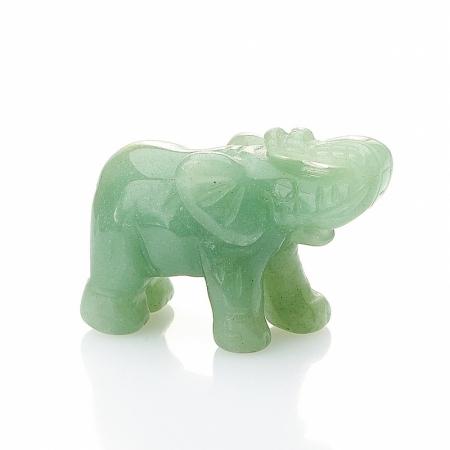Слон авантюрин зеленый  3 смАвантюрин<br>Слон авантюрин зеленый  3 см<br><br>kit: None