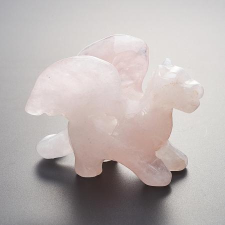 Дракон розовый кварц  5 смРозовый кварц<br>Дракон розовый кварц  5 см<br><br>kit: None