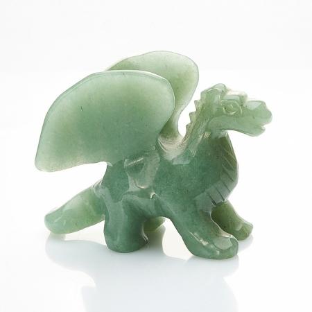 Дракон авантюрин зеленый  6 см