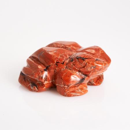 Лягушка яшма брекчиевая  5 см