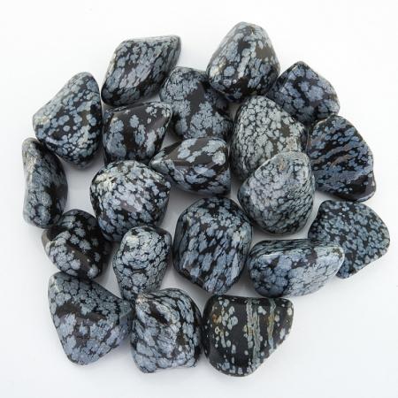 Обсидиан снежный  (1-2 см) 1 шт