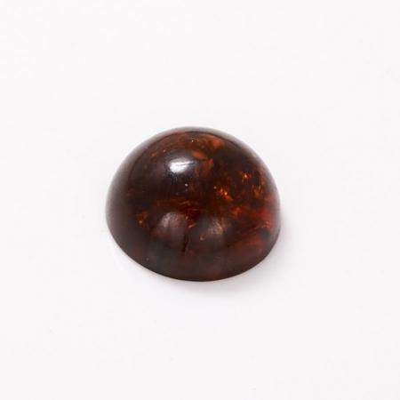 Кабошон янтарь  18 мм