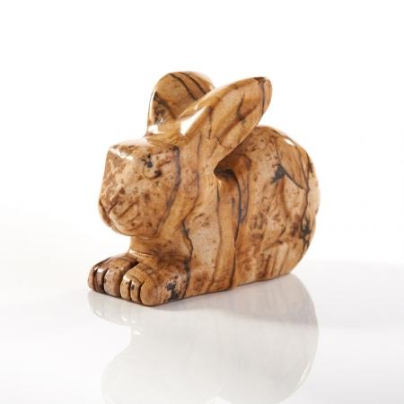 Кролик яшма рисунчатая  5 см