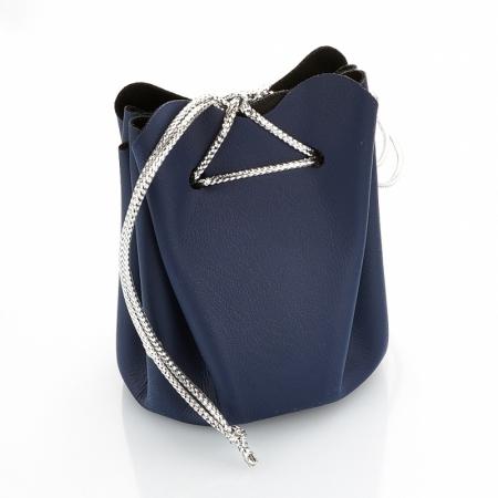 Подарочная упаковка универсальная (мешочек объемный синий) 40х40х60 ммПодарочная упаковка<br>Подарочная упаковка универсальная (мешочек объемный синий) 40х40х60 мм<br><br>kit: None