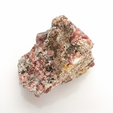Кристалл в породе гранат родолит  XS