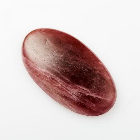 Кабошон турмалин розовый  19*34 мм