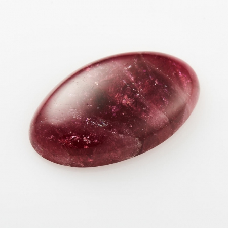 Кабошон турмалин розовый  14*23 мм