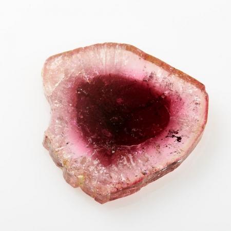Кабошон турмалин розовый  (срез) 26*27 мм