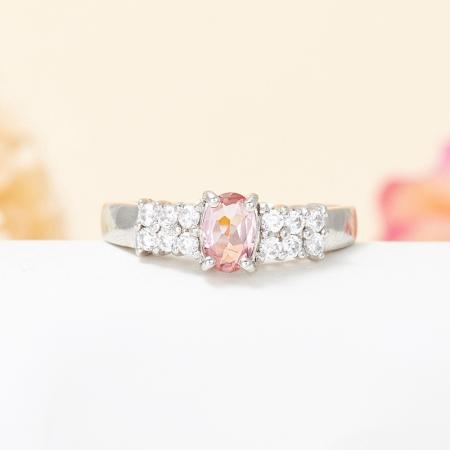 Кольцо турмалин розовый  огранка (серебро 925 пр.) размер 17Турмалин<br>Кольцо турмалин розовый  огранка (серебро 925 пр.) размер 17<br><br>kit: None