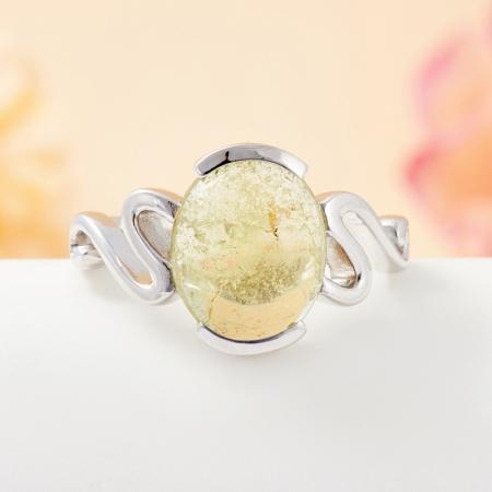 Кольцо турмалин зеленый  (серебро 925 пр.) размер 18Турмалин<br>Кольцо турмалин зеленый  (серебро 925 пр.) размер 18<br><br>kit: None