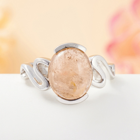 Кольцо турмалин желтый  (серебро 925 пр.) размер 17,5Турмалин<br>Кольцо турмалин желтый  (серебро 925 пр.) размер 17,5<br><br>kit: None