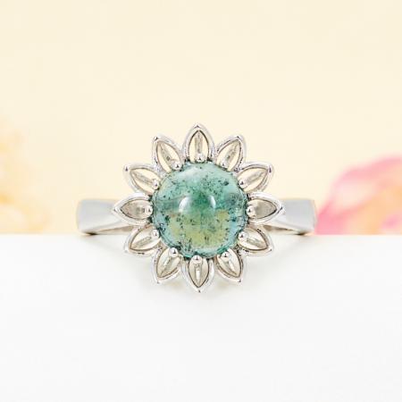 Кольцо турмалин зеленый  (серебро 925 пр.) размер 19Турмалин<br>Кольцо турмалин зеленый  (серебро 925 пр.) размер 19<br><br>kit: None