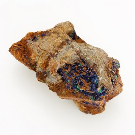 Образец азурит с малахитом  SАзурит<br>Образец азурит с малахитом  S<br><br>kit: None