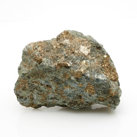 Кристалл в породе пирит  S