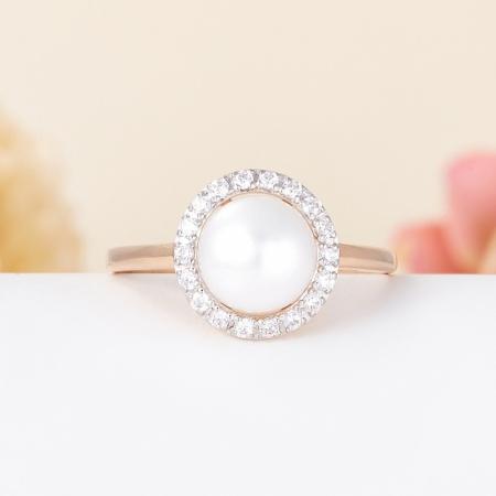 Кольцо жемчуг белый  (серебро 925 пр., позолота) размер 20,5Жемчуг<br>Кольцо жемчуг белый  (серебро 925 пр., позолота) размер 20,5<br><br>kit: None