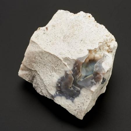 Образец агат серый, кремнистый песчаник  M