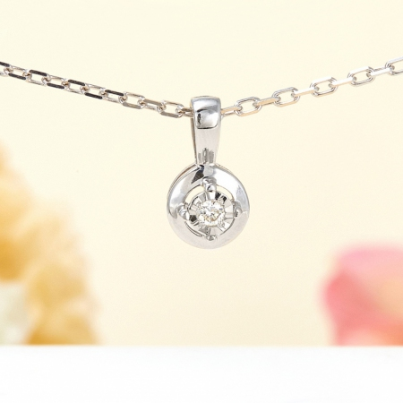 Кулон бриллиант  огранка (серебро 925 пр.)