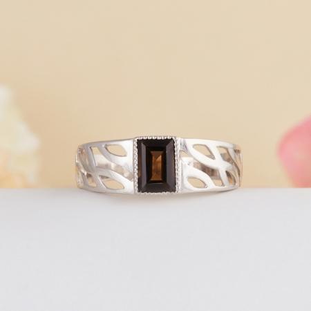Кольцо раухтопаз  огранка (серебро 925 пр.) размер 21,5Раухтопаз<br>Кольцо раухтопаз  огранка (серебро 925 пр.) размер 21,5<br><br>kit: None