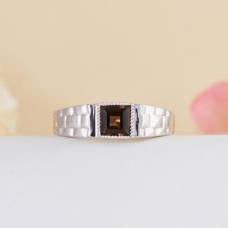 Кольцо раухтопаз  огранка (серебро 925 пр.) размер 21Раухтопаз<br>Кольцо раухтопаз  огранка (серебро 925 пр.) размер 21<br><br>kit: None