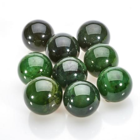 Шар нефрит зеленый  3 смНефрит<br>Шар нефрит зеленый  3 см<br><br>kit: None