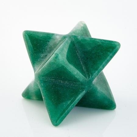 Меркаба авантюрин зеленый  3 см