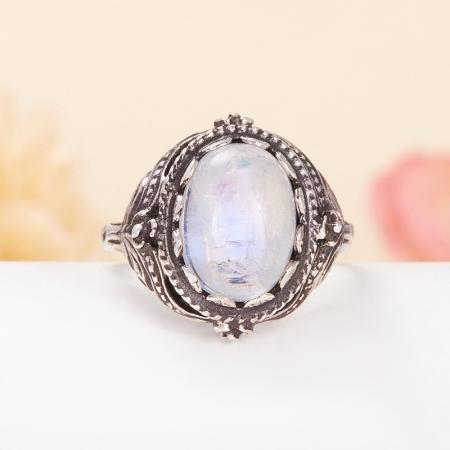 Кольцо лунный камень  (серебро 925 пр.) размер 18Лунный камень<br>Кольцо лунный камень  (серебро 925 пр.) размер 18<br><br>kit: None