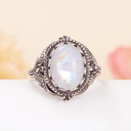 Кольцо лунный камень  (серебро 925 пр.) размер 18,5Лунный камень<br>Кольцо лунный камень  (серебро 925 пр.) размер 18,5<br><br>kit: None