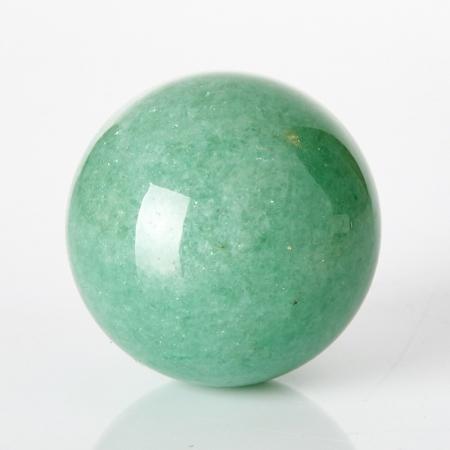 Шар авантюрин зеленый  2,5 см