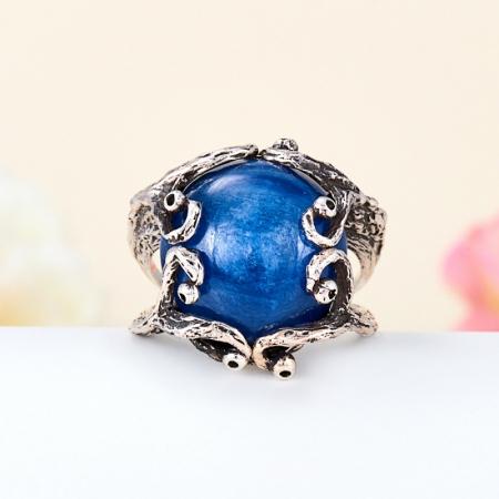 Кольцо кианит синий  (серебро 925 пр.) размер 18Кианит<br>Кольцо кианит синий  (серебро 925 пр.) размер 18<br><br>kit: None