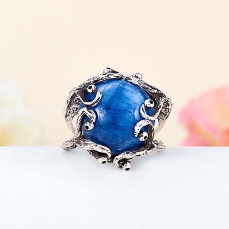 Кольцо кианит синий  (серебро 925 пр.) размер 18,5Кианит<br>Кольцо кианит синий  (серебро 925 пр.) размер 18,5<br><br>kit: None