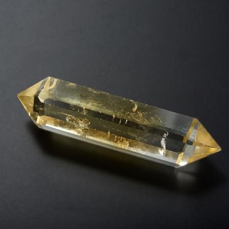 Кристалл цитрин  (двухголовик) M
