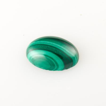 Кабошон малахит  8*12 мм