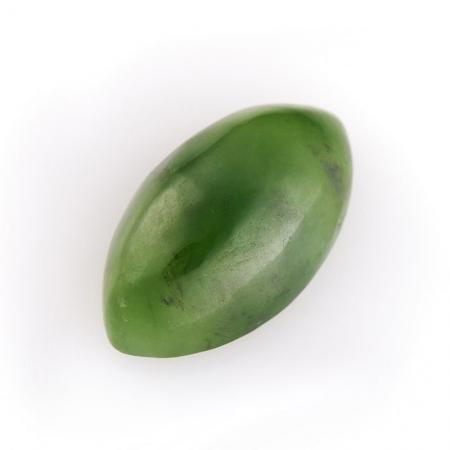 Кабошон нефрит зеленый  9*16 ммНефрит<br>Кабошон нефрит зеленый  9*16 мм<br><br>kit: None