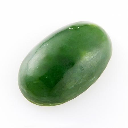 Кабошон нефрит зеленый  10*16 ммНефрит<br>Кабошон нефрит зеленый  10*16 мм<br><br>kit: None
