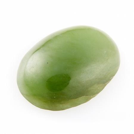 Кабошон нефрит зеленый  12*16 ммНефрит<br>Кабошон нефрит зеленый  12*16 мм<br><br>kit: None
