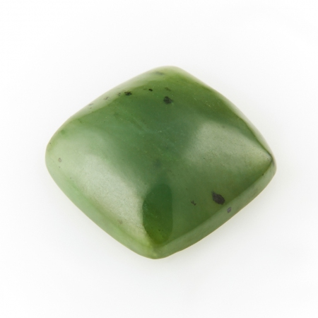 Кабошон нефрит зеленый  12*12 ммНефрит<br>Кабошон нефрит зеленый  12*12 мм<br><br>kit: None