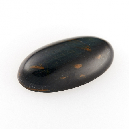 Кабошон соколиный глаз  8*15 мм