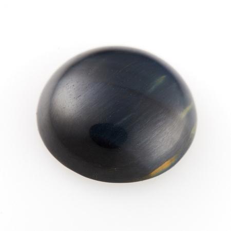 Кабошон соколиный глаз  15 мм