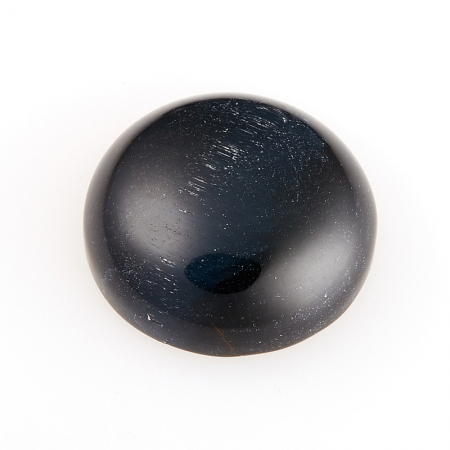 Кабошон соколиный глаз  12 мм