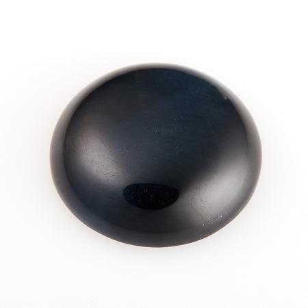 Кабошон соколиный глаз  18 мм