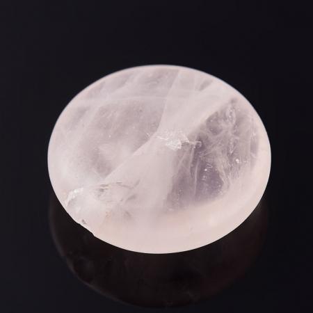 Бусина розовый кварц  круг 12 мм (1 шт)Розовый кварц<br>Бусина розовый кварц  круг 12 мм (1 шт)<br><br>kit: None