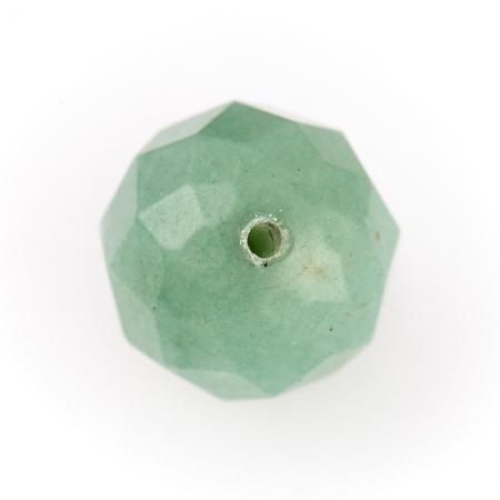 Бусина авантюрин зеленый  шарик 10 мм огранка (1 шт)Авантюрин<br>Бусина авантюрин зеленый  шарик 10 мм огранка (1 шт)<br><br>kit: None