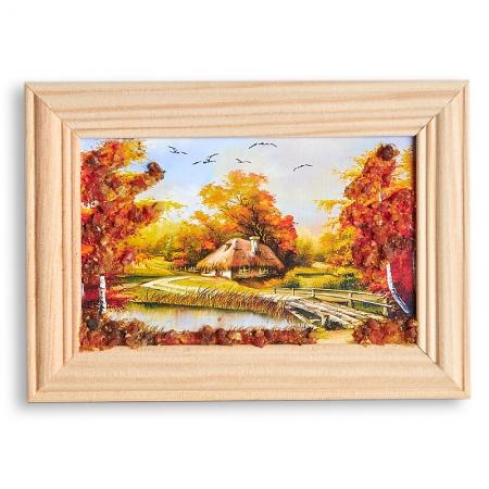 Картина Природа янтарь  8х12 смКартины<br>Картина Природа янтарь  8х12 см<br><br>kit: None