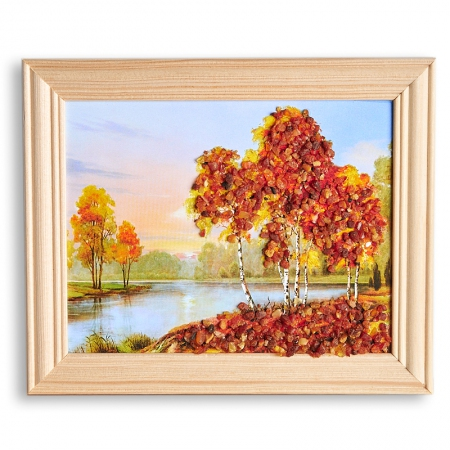 Картина Природа янтарь  12х15 смКартины<br>Картина Природа янтарь  12х15 см<br><br>kit: None